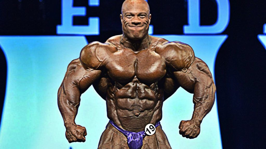 Phil Heath en su potencial muscular máximo