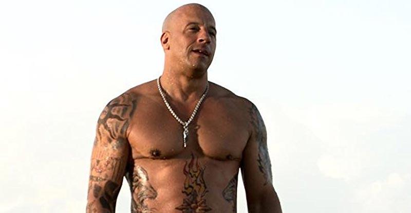 Vin Diesel somatotipo endomorfo