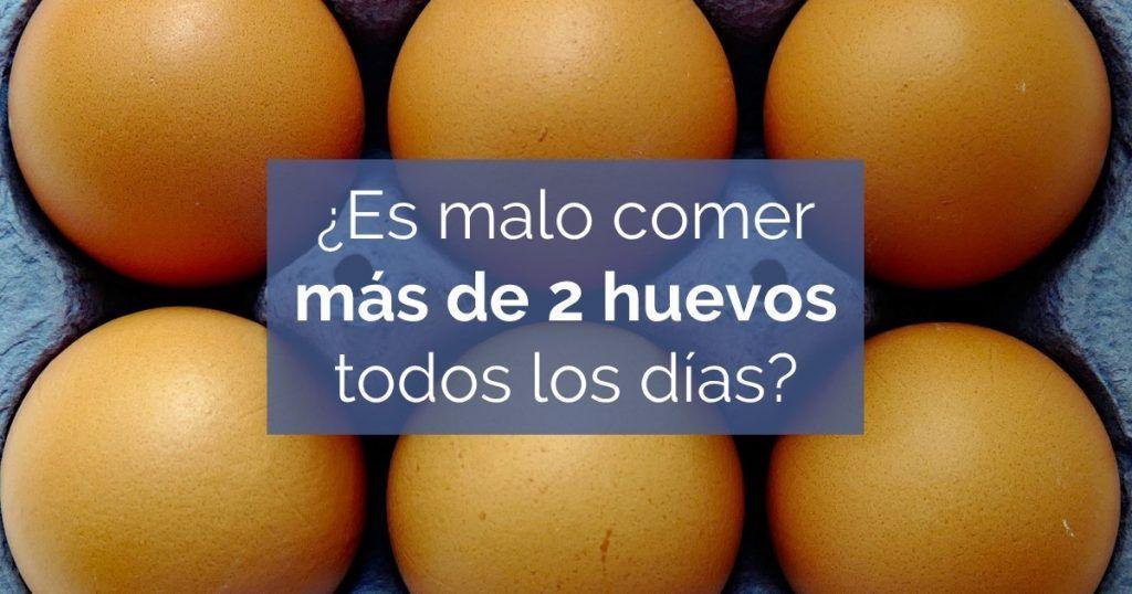 cuantos huevos se pueden comer