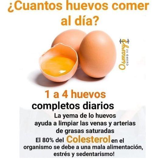 cantidad de huevos al dia