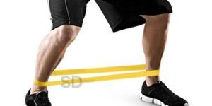abducciones de cadera con bandas de resistencia