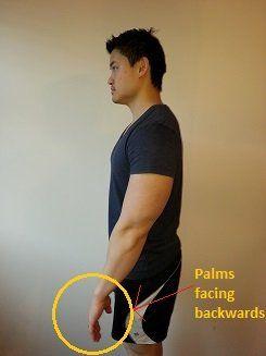 prueba para hombros adelantados