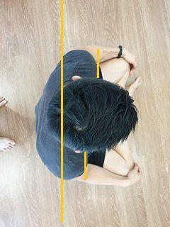 hombros adelantados posicion