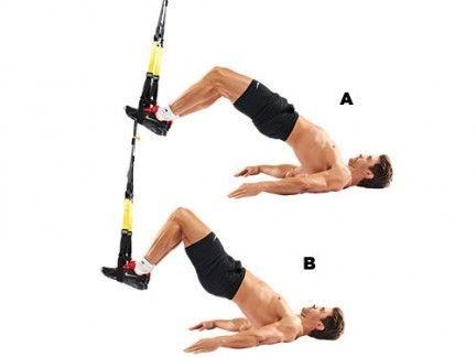 ejercicios trx femoral