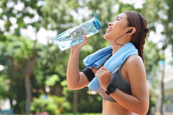 hidratación en el deporte
