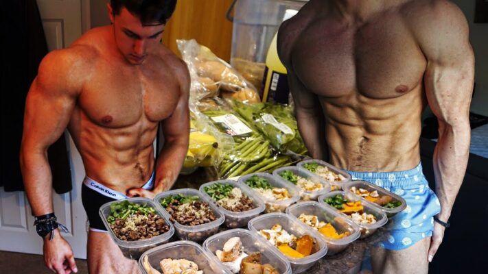 dieta de culturismo