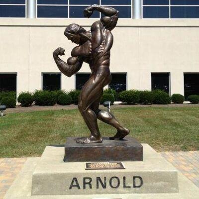 estatua de arnold schwarzenegger