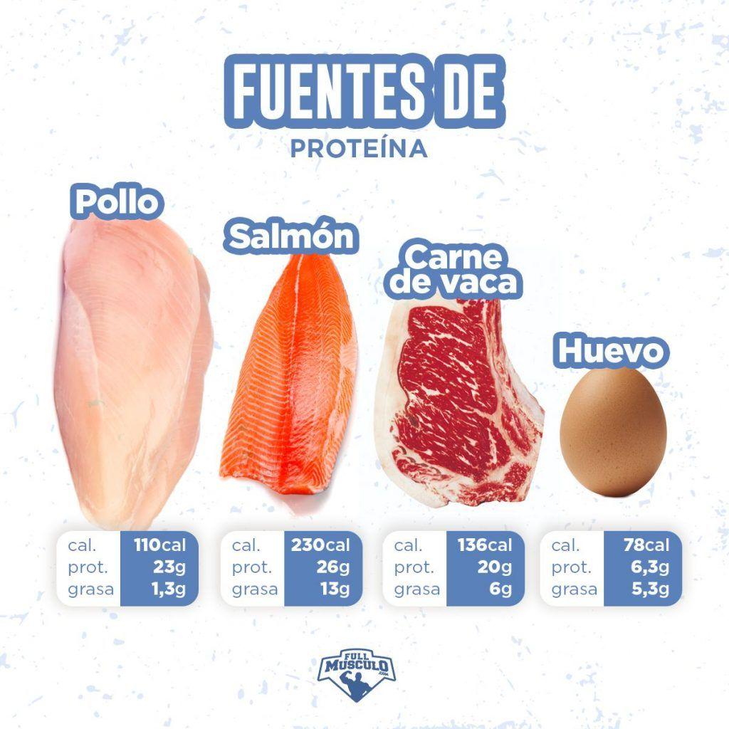 mejores fuentes de proteína