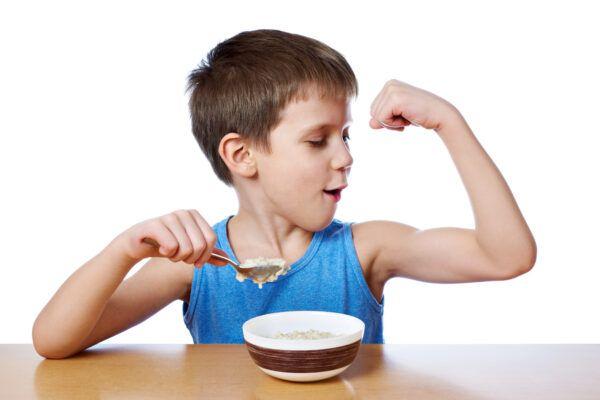 batidos proteinas para niños